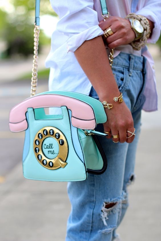 bolsa candy color telefone