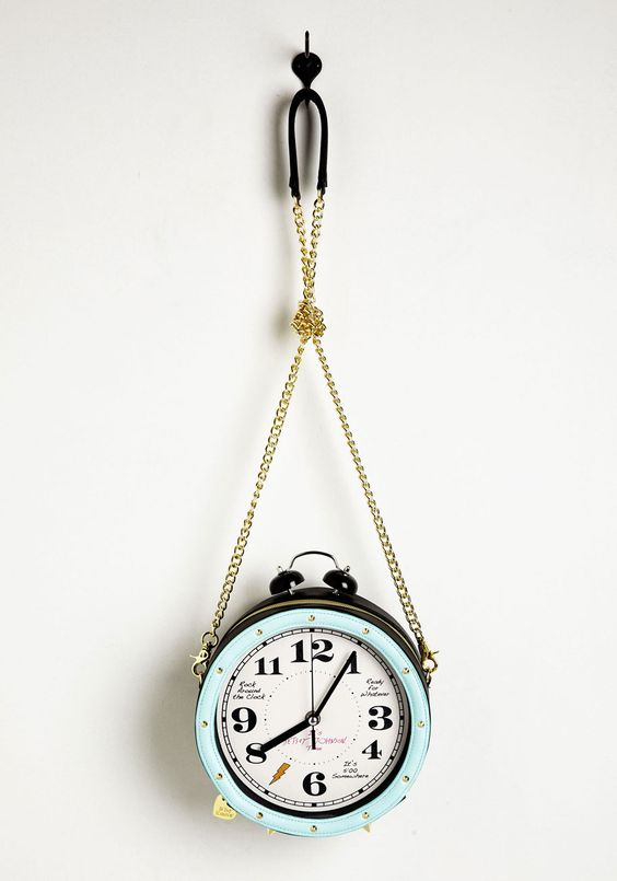 bolsa relógio