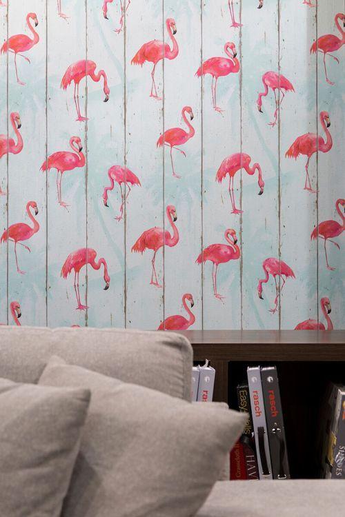 parede-de-flamingos